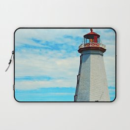 Red Light of North Cape Lighthouse Laptop Sleeve