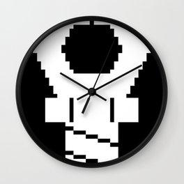 Snapping Claw - dark fabric Wall Clock