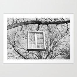 The Hanging Window Art Print