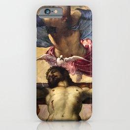"Tintoretto (Jacopo Robusti) ""Holy Trinity"" iPhone Case"