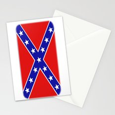Confederate flag Stationery Cards