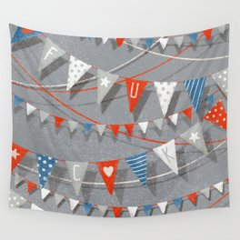 Hate card Wall Tapestry