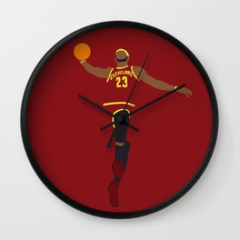 NBA Players | Lebron Dunk Wall Clock