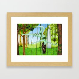 June 2017 Framed Art Print