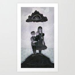 The Unfortunate Baudelaire Orphans Art Print