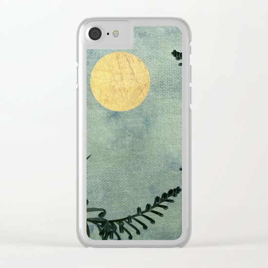 Cycas III Clear iPhone Case