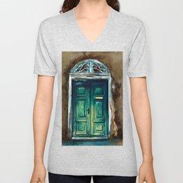 Ancient Door Unisex V-Neck