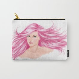 pink cotton candy Carry-All Pouch