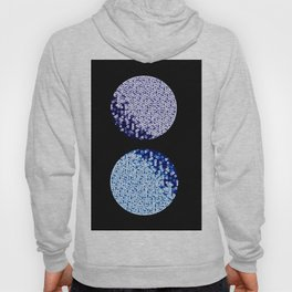 Two Moons - Purple and Blue Hoody