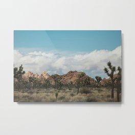 Joshua Tree in a blur Metal Print