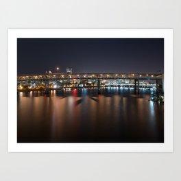 Bridgetown, Portland OR Art Print