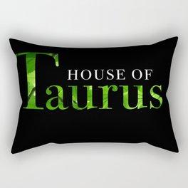 House of Taurus logo Rectangular Pillow