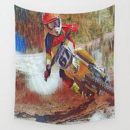Dirt Man Wall Tapestry