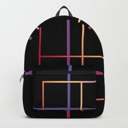 Geometric patchwork12 Backpack