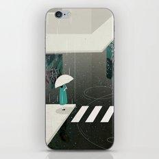 let it rain iPhone & iPod Skin
