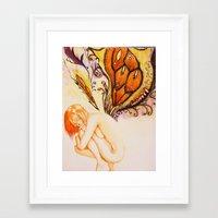 fairytale Framed Art Prints featuring Fairytale by Jordan grimes