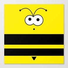 Minimal Bee Canvas Print