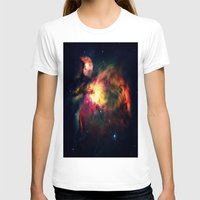 nebula T-shirts featuring Orion NEbula Dark & Colorful by 2sweet4words Designs