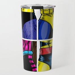 90's Hero Group (Male) Travel Mug