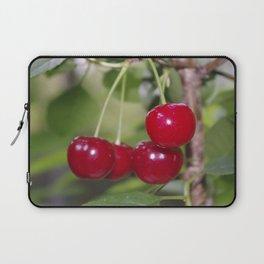 Cherries, fresh on the tree Laptop Sleeve