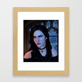 Yennefer of Vengerberg Framed Art Print