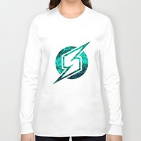 metroid Long Sleeve T-shirts featuring Metroid Logo by Bradley Bailey