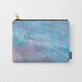 Iridescent Glitter Carry-All Pouch