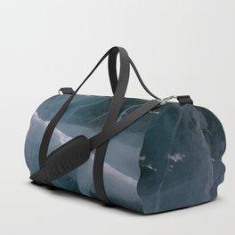 Cracked Road Ice Duffle Bag