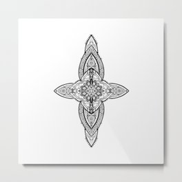 Lans' Cross - Contemporary Gothic Metal Print