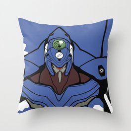 Neon genesis evangelion 00 Throw Pillow