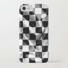 Chequered Flag iPhone 7 Slim Case