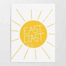 East Coast Sun Poster
