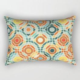 Bauhaus Geometric Rectangular Pillow