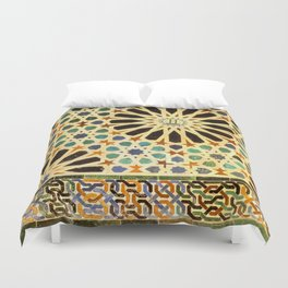 """""""Mexuar room"""". Details in The Alhambra Palace.  Duvet Cover"""