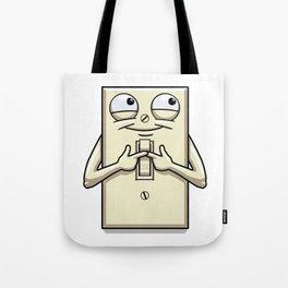 Turned On Tote Bag