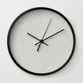 Celeste Diamonds Wall Clock