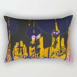The Influencers Urban Totems Rectangular Pillow