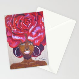 Beautiful as a Rose Stationery Cards
