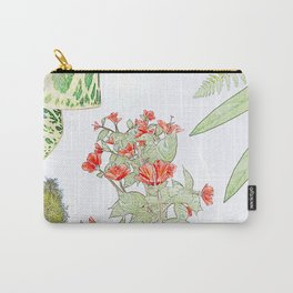 flowers plants Carry-All Pouch