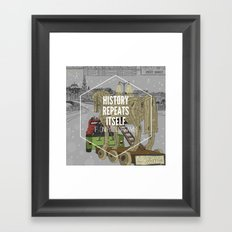 If only in dreams Framed Art Print