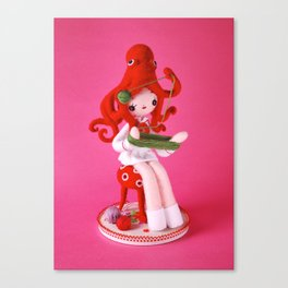 Onto-Girl Canvas Print