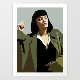 MISS WALLACE Art Print