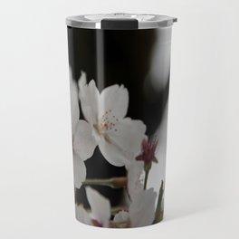 Sakura blossoms up close Travel Mug