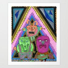 Scoundralz Art Print