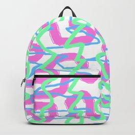 Neon Graffiti Backpack