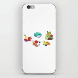 Fruits and Veggies iPhone Skin