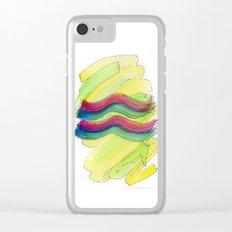 Aquarius Flow Clear iPhone Case