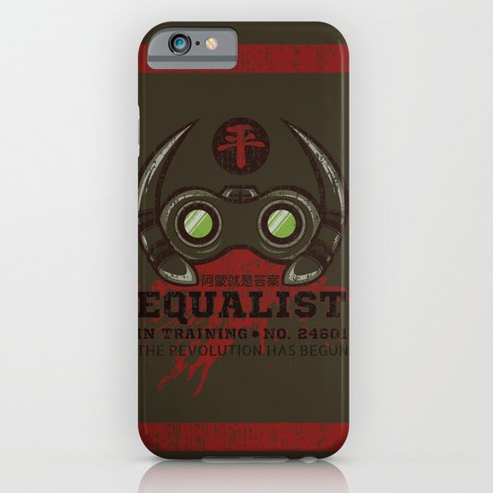 Equalist in Training iPhone & iPod Case