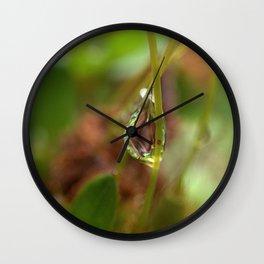 Water droplet abstract Wall Clock