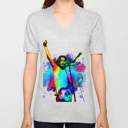 Chris Cornell - Water Colour Art Design Unisex V-Neck